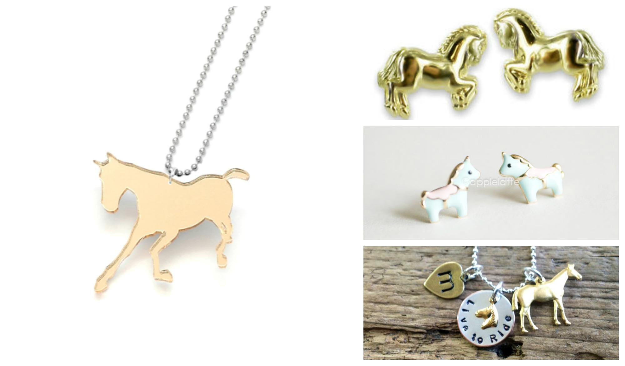 Pferde Schmuck Collage